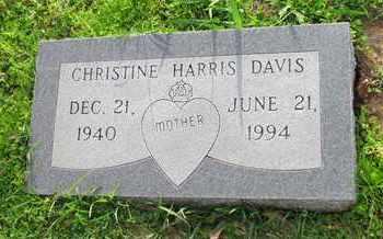 DAVIS, CHRISTINE - Hempstead County, Arkansas | CHRISTINE DAVIS - Arkansas Gravestone Photos