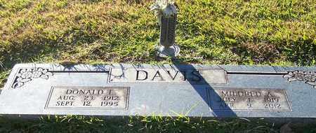 DAVIS, MILDRED A - Hempstead County, Arkansas   MILDRED A DAVIS - Arkansas Gravestone Photos