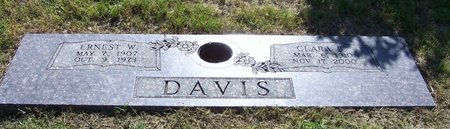 DAVIS, CLARA B - Hempstead County, Arkansas | CLARA B DAVIS - Arkansas Gravestone Photos