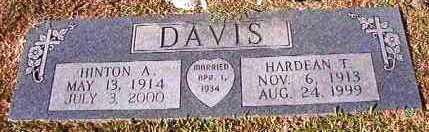 DAVIS, HARDEAN T - Hempstead County, Arkansas | HARDEAN T DAVIS - Arkansas Gravestone Photos