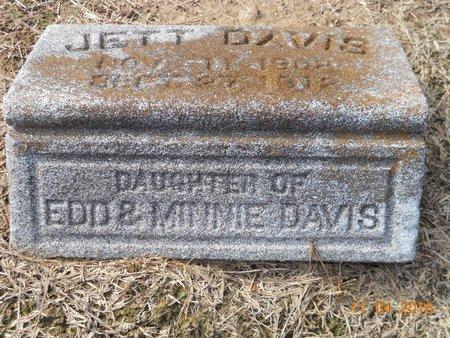 DAVIS, JETT - Hempstead County, Arkansas   JETT DAVIS - Arkansas Gravestone Photos