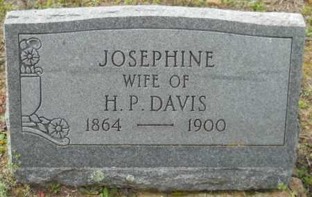 DAVIS, JOSEPHINE - Hempstead County, Arkansas   JOSEPHINE DAVIS - Arkansas Gravestone Photos