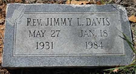 "DAVIS, JIMMY L ""REV"" - Hempstead County, Arkansas | JIMMY L ""REV"" DAVIS - Arkansas Gravestone Photos"