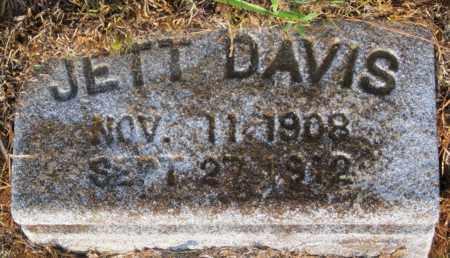 DAVIS, JETT (CLOSE UP) - Hempstead County, Arkansas | JETT (CLOSE UP) DAVIS - Arkansas Gravestone Photos