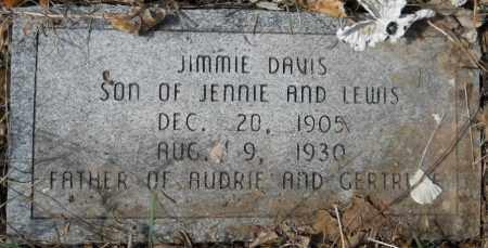 DAVIS, JIMMIE - Hempstead County, Arkansas   JIMMIE DAVIS - Arkansas Gravestone Photos