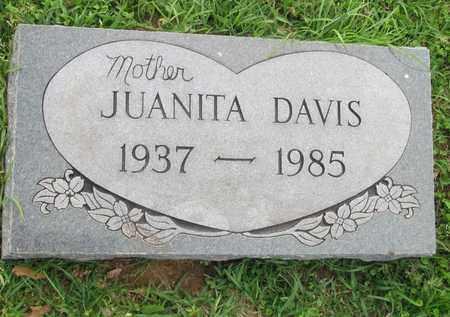 DAVIS, JUANITA - Hempstead County, Arkansas | JUANITA DAVIS - Arkansas Gravestone Photos