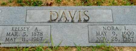 DAVIS, NORA I - Hempstead County, Arkansas   NORA I DAVIS - Arkansas Gravestone Photos