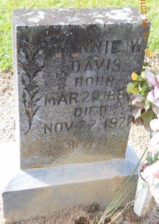 DAVIS, MINNIE - Hempstead County, Arkansas | MINNIE DAVIS - Arkansas Gravestone Photos