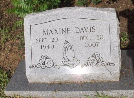 DAVIS, MAXINE - Hempstead County, Arkansas   MAXINE DAVIS - Arkansas Gravestone Photos