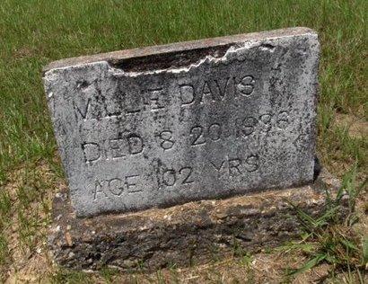 DAVIS, MILLIE - Hempstead County, Arkansas   MILLIE DAVIS - Arkansas Gravestone Photos