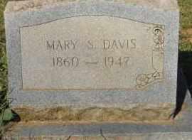 DAVIS, MARY S - Hempstead County, Arkansas   MARY S DAVIS - Arkansas Gravestone Photos