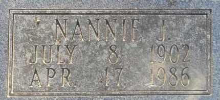 DAVIS, NANNIE J (CLOSEUP) - Hempstead County, Arkansas | NANNIE J (CLOSEUP) DAVIS - Arkansas Gravestone Photos