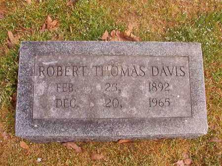 DAVIS, ROBERT THOMAS - Hempstead County, Arkansas   ROBERT THOMAS DAVIS - Arkansas Gravestone Photos