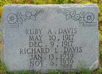 DAVIS, RICHARD L - Hempstead County, Arkansas | RICHARD L DAVIS - Arkansas Gravestone Photos
