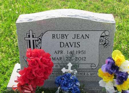 DAVIS, RUBY JEAN - Hempstead County, Arkansas   RUBY JEAN DAVIS - Arkansas Gravestone Photos