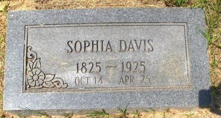 DAVIS, SOPHIA - Hempstead County, Arkansas   SOPHIA DAVIS - Arkansas Gravestone Photos
