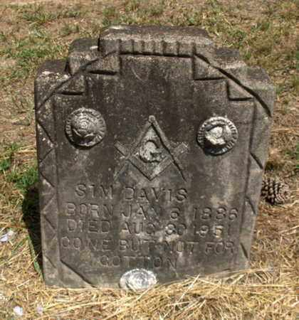 DAVIS, SIM - Hempstead County, Arkansas | SIM DAVIS - Arkansas Gravestone Photos