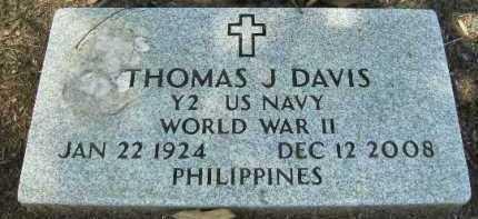 DAVIS, THOMAS J - Hempstead County, Arkansas   THOMAS J DAVIS - Arkansas Gravestone Photos