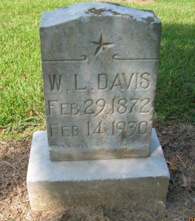 DAVIS, W. L. - Hempstead County, Arkansas | W. L. DAVIS - Arkansas Gravestone Photos