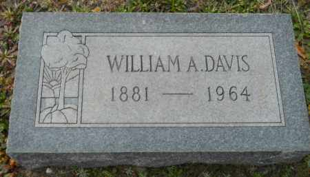 DAVIS, WILLIAM A - Hempstead County, Arkansas   WILLIAM A DAVIS - Arkansas Gravestone Photos