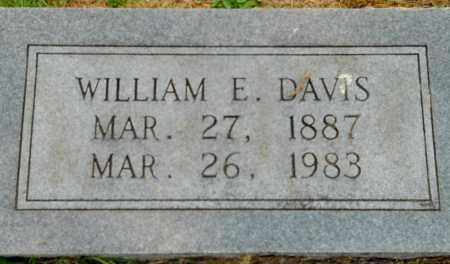 DAVIS, WILLIAM E - Hempstead County, Arkansas | WILLIAM E DAVIS - Arkansas Gravestone Photos