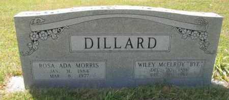 MORRIS DILLARD, ROSA ADA - Hempstead County, Arkansas | ROSA ADA MORRIS DILLARD - Arkansas Gravestone Photos