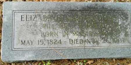 DOWNS, ELIZABETH MARIAN (2ND STONE) - Hempstead County, Arkansas | ELIZABETH MARIAN (2ND STONE) DOWNS - Arkansas Gravestone Photos