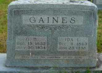 GAINES, GREEN BERRY - Hempstead County, Arkansas | GREEN BERRY GAINES - Arkansas Gravestone Photos