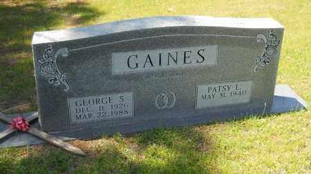 GAINES, GEORGE S - Hempstead County, Arkansas | GEORGE S GAINES - Arkansas Gravestone Photos