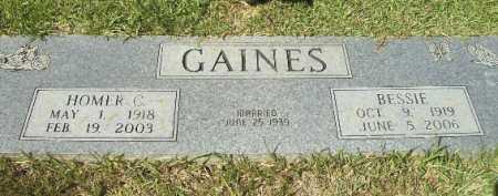 GAINES, HOMER C - Hempstead County, Arkansas | HOMER C GAINES - Arkansas Gravestone Photos
