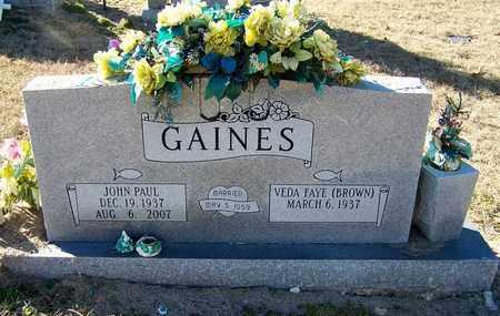 GAINES, JOHN PAUL - Hempstead County, Arkansas | JOHN PAUL GAINES - Arkansas Gravestone Photos