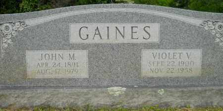 GAINES, VIOLET V - Hempstead County, Arkansas | VIOLET V GAINES - Arkansas Gravestone Photos