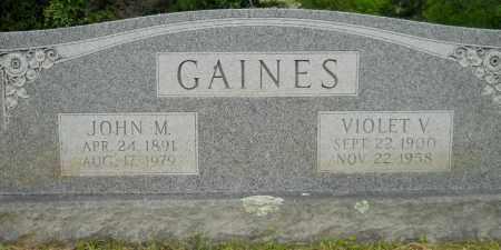 GAINES, JOHN M - Hempstead County, Arkansas | JOHN M GAINES - Arkansas Gravestone Photos