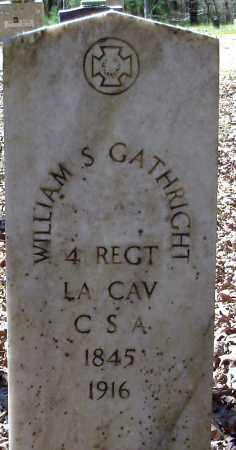 GATHRIGHT (VETERAN CSA), WILLIAM S - Hempstead County, Arkansas | WILLIAM S GATHRIGHT (VETERAN CSA) - Arkansas Gravestone Photos