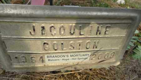 GOLSTON, JACQULINE - Hempstead County, Arkansas   JACQULINE GOLSTON - Arkansas Gravestone Photos