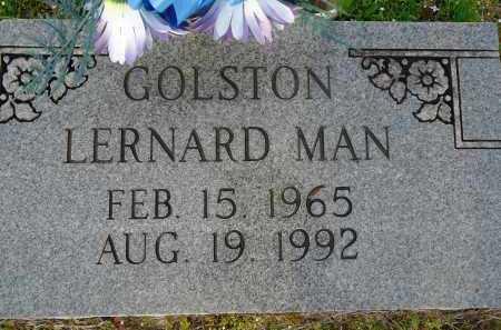 GOLSTON, LERNARD MAN - Hempstead County, Arkansas   LERNARD MAN GOLSTON - Arkansas Gravestone Photos