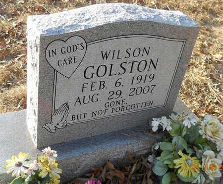 GOLSTON, WILSON - Hempstead County, Arkansas   WILSON GOLSTON - Arkansas Gravestone Photos
