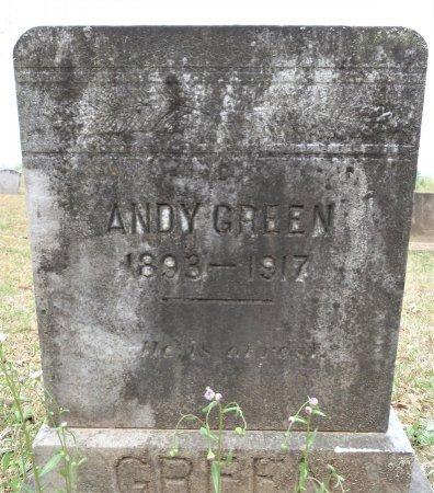 GREEN, ANDY - Hempstead County, Arkansas | ANDY GREEN - Arkansas Gravestone Photos