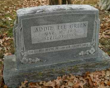 GREEN, ADDIE LEE - Hempstead County, Arkansas | ADDIE LEE GREEN - Arkansas Gravestone Photos