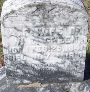 GREEN, A. R. - Hempstead County, Arkansas   A. R. GREEN - Arkansas Gravestone Photos