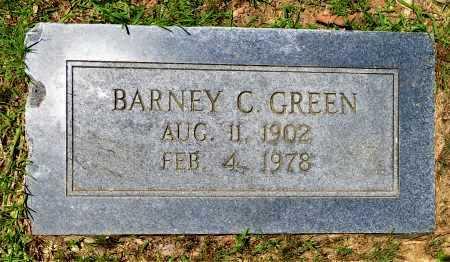 GREEN, BARNEY C - Hempstead County, Arkansas   BARNEY C GREEN - Arkansas Gravestone Photos