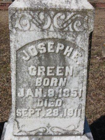 GREEN, JOSEPH E. (CLOSEUP) - Hempstead County, Arkansas | JOSEPH E. (CLOSEUP) GREEN - Arkansas Gravestone Photos
