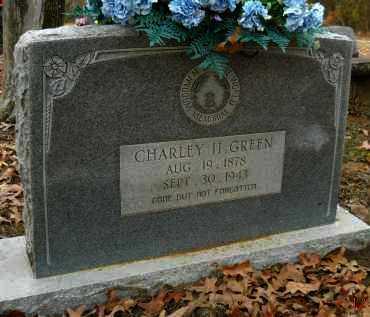 GREEN, CHARLEY H - Hempstead County, Arkansas | CHARLEY H GREEN - Arkansas Gravestone Photos
