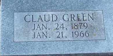 GREEN, CLAUD - Hempstead County, Arkansas   CLAUD GREEN - Arkansas Gravestone Photos