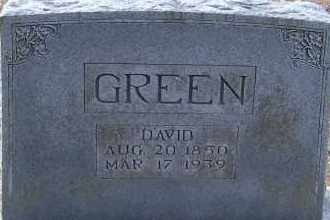 GREEN, DAVID - Hempstead County, Arkansas | DAVID GREEN - Arkansas Gravestone Photos