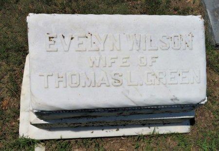 GREEN, EVELYN (TOP) - Hempstead County, Arkansas   EVELYN (TOP) GREEN - Arkansas Gravestone Photos