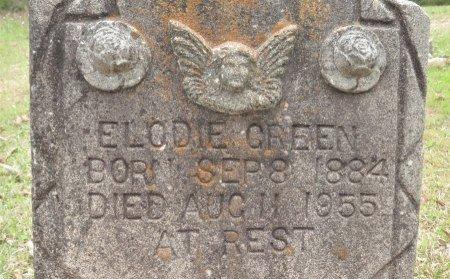 GREEN, ELODIE (CLOSEUP) - Hempstead County, Arkansas   ELODIE (CLOSEUP) GREEN - Arkansas Gravestone Photos