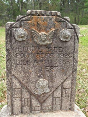 GREEN, ELODIE - Hempstead County, Arkansas | ELODIE GREEN - Arkansas Gravestone Photos