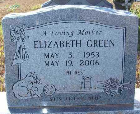 GREEN, ELIZABETH - Hempstead County, Arkansas | ELIZABETH GREEN - Arkansas Gravestone Photos