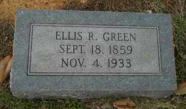 GREEN, ELLIS R - Hempstead County, Arkansas | ELLIS R GREEN - Arkansas Gravestone Photos